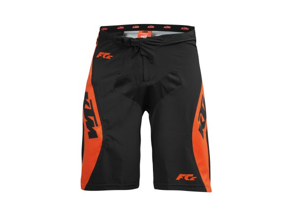 Dětské kraťasy KTM Factory Enduro Youth Black/orange