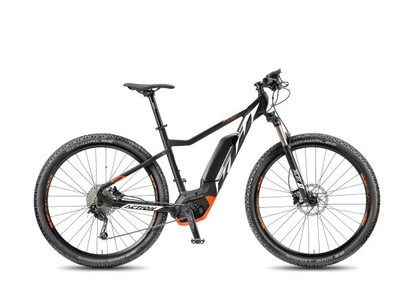 Elektrokolo KTM MACINA ACTION 292 9 400 Wh 2018 Black matt/white/orange