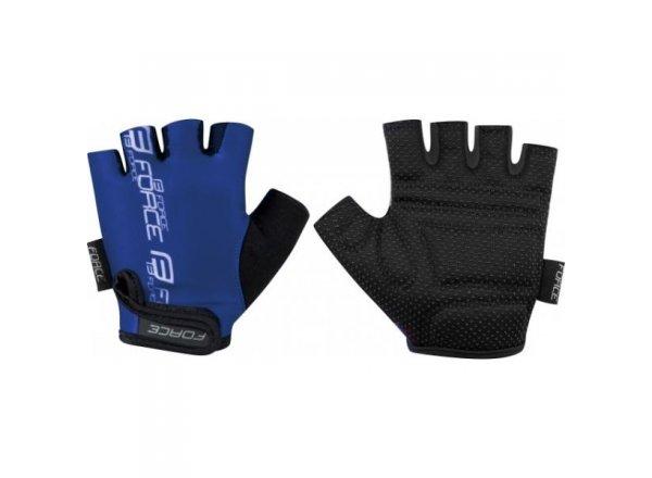 Dětské cyklsitické rukavice FORCE KID Blue