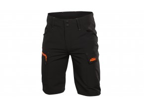 Kraťasy KTM Factory Team Work Short Black/orange