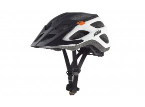 Cyklistická přilba KTM FACTORY CHARACTER HELMET White/black/orange