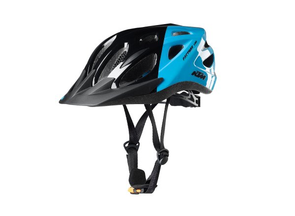 Dětská helma na kolo KTM FACTORY Youth Black/blue