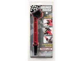FINISH LINE Grunge Brush-čistící kartáč Red