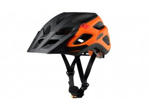 Cyklistická přilba KTM FACTORY CHARACTER HELMET Black/orange