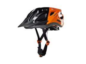 Dětská helma na kolo KTM FACTORY Youth Black/orange
