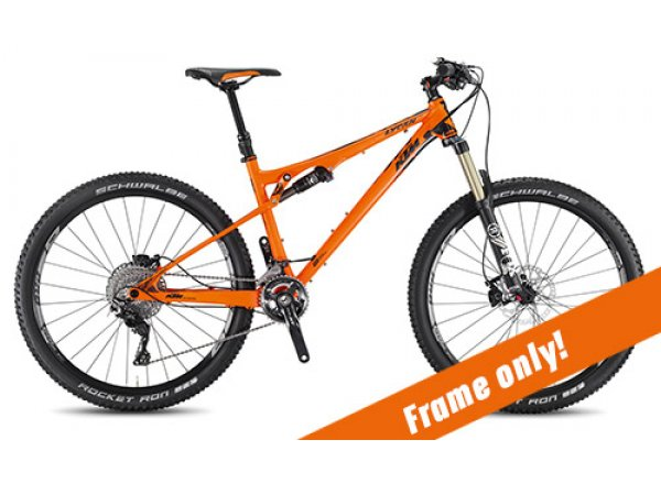 Samostatný rám KTM Lycan 272 2017 Orange/black