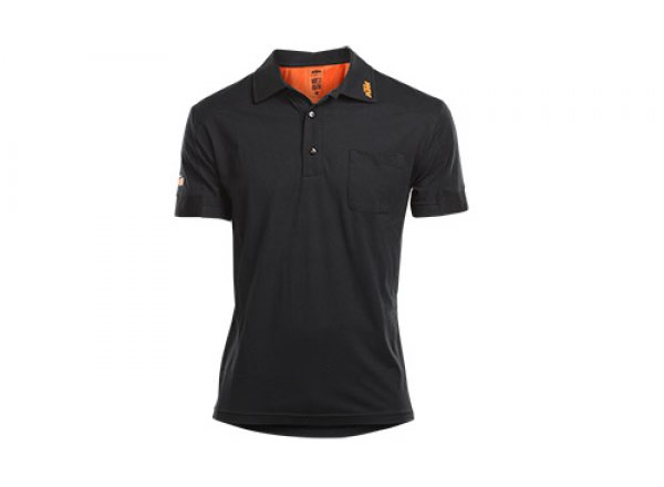 Tričko KTM Factory Team Work Polo Black