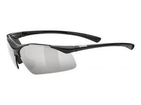Cyklistické brýle UVEX SPORTSTYLE 223 (2216) Black/smoke