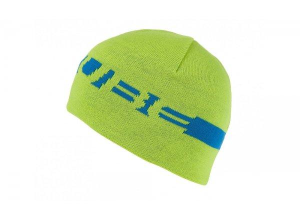 Zimní čepice Cube Beanie lime/blue
