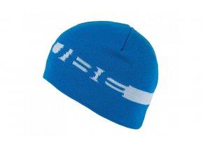 Zimní čepice Cube Beanie blue/white