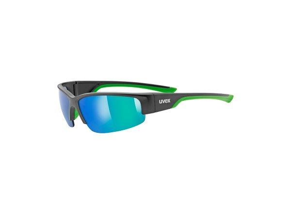 Brýle UVEX SPORTSTYLE 215 Black/green