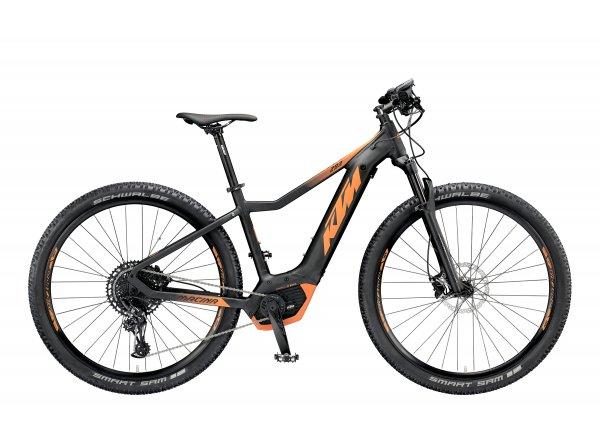 Elektrokolo KTM MACINA RACE 293 12 PT-CX5I4 2019 Black matt (orange)