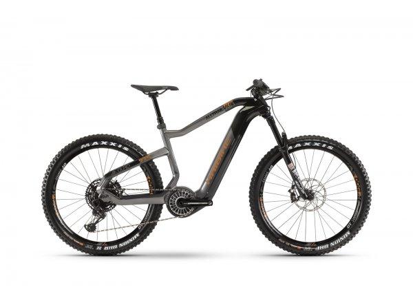 Elektrokolo Haibike XDURO AllTrail 6.0 i630Wh FLYON 2020 Carbon/titanová/bronz
