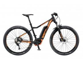 Elektrokolo KTM MACINA ACTION 291 10 SI-CX5P4 2019 Black matt (orange)