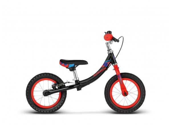 "Odrážedlo KROSS Mini 12"" 2019 ONE black / red glossy"