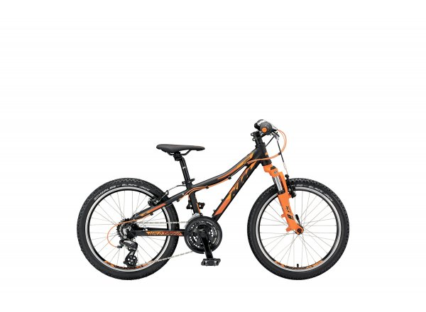 Dětské kolo KTM Wild SPEED 20.21 V 2019 black matt (orange)
