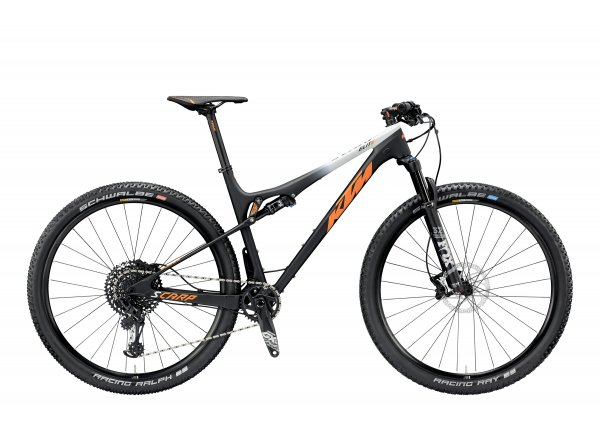 Horské kolo KTM SCARP 29 ELITE 12 2019 Black matt (orange+lightgrey)