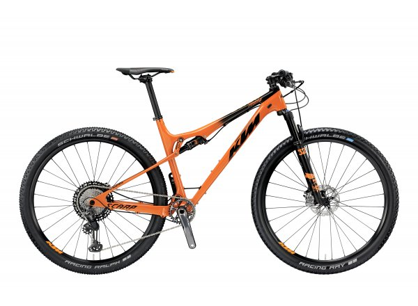 Horské kolo KTM SCARP 29 PRIME 12 2019 Orange (black)