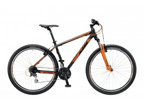 Horské kolo KTM CHICAGO 29.24 CLASSIC 2019 Black matt (orange)