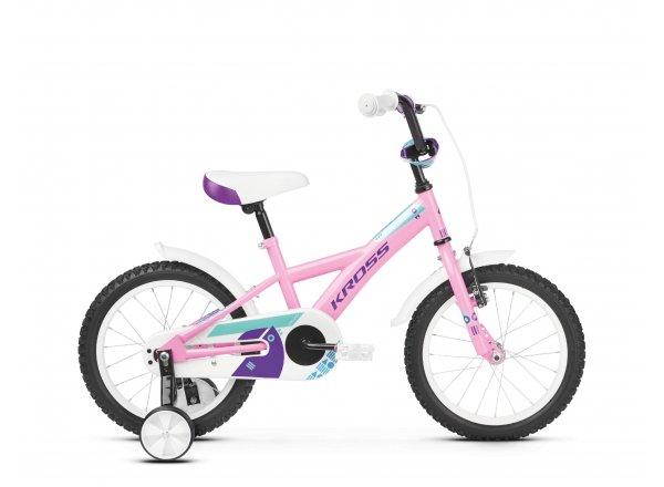 Dětské kolo KROSS Mini 3.0 16 2019 pink / violet / turquoise glossy