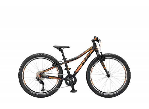 Dětské kolo KTM Wild SPEED 24.9 2019 Black matt (orange)