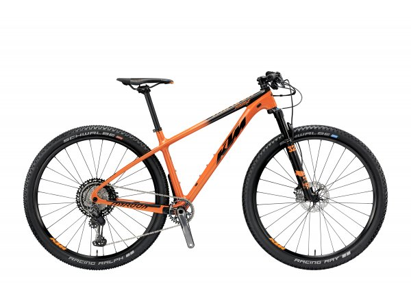Horské kolo KTM MYROON 29 PRIME 12 2019 Orange (black)