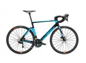Silniční kolo KTM REVELATOR LISSE ELITE 22 2019 Black matt (m.blue+orange glossy)