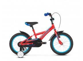 Dětské kolo KROSS Racer 3.0 16 2019 red / blue glossy