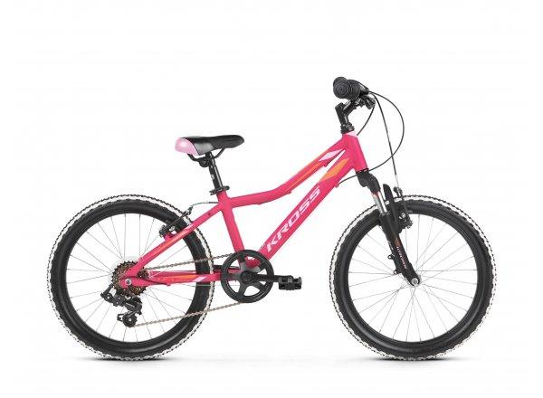 Dětské kolo KROSS Lea Mini 2.0 20 2019 pink / orange matte