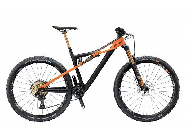 Horské kolo KTM PROWLER 29 SONIC 12 XX1 2019 black matt (orange)