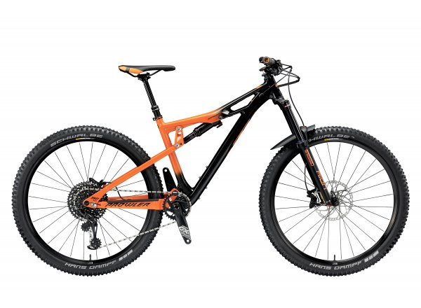 Horské kolo KTM PROWLER 29 292 12 2019 Black (orange)