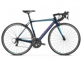 Dámské silniční kolo KROSS Vento 6.0 2019 navy blue / aquamarine / violet matte
