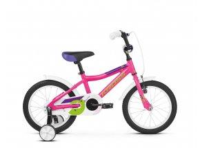 Dětské kolo KROSS Mini 4.0 16 2019 pink / green glossy