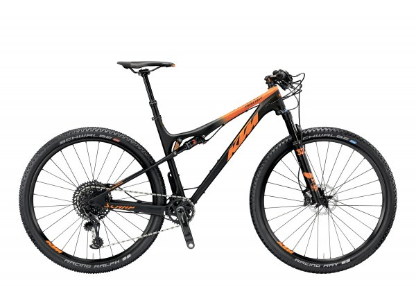 Horské kolo KTM SCARP 29 MASTER 12 2019 Black matt (orange)