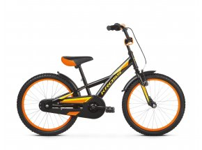 Dětské kolo KROSS Racer 5.0 20 2019 black / yellow / orange glossy