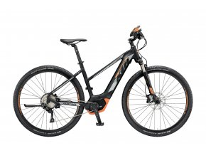 Dámské elektrokolo KTM MACINA CROSS 10 PT-CX5I4 2019 Black matt (grey+orange)