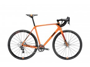 Cyklokrosové kolo KTM CANIC CXC 11 2019 Orange (black+darkred)