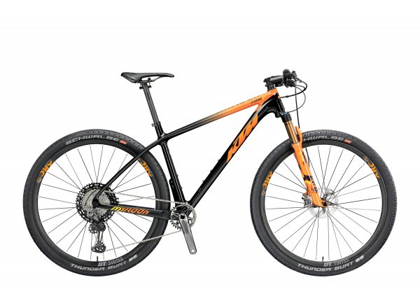 Horské kolo KTM MYROON 29 SONIC 12 2019 Black (orange+yellow)