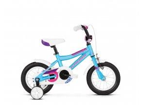 Dětské kolo KROSS Mini 2.0 12 2019 blue / pink / violet glossy