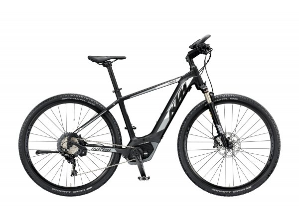 Elektrokolo KTM MACINA CROSS XT11 2019 Black matt (white+grey)