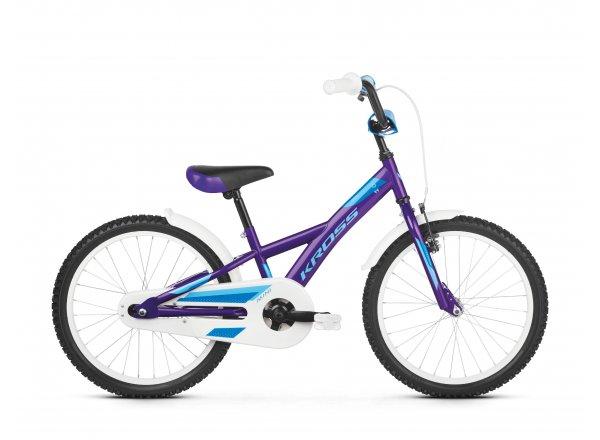 Dětské kolo KROSS Mini 5.0 20 2019 violet / blue glossy