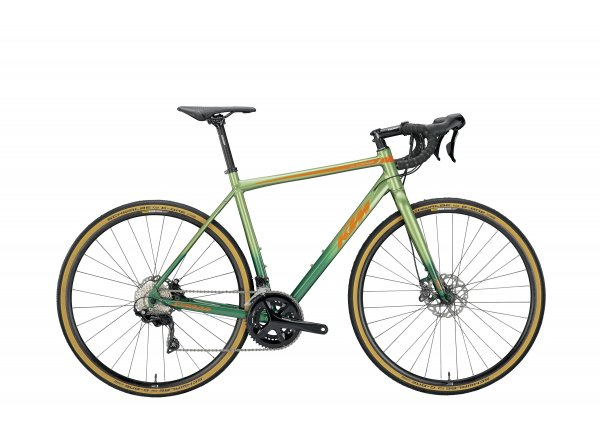 Gravel KTM X-STRADA 22 2019 Faded green (orange)