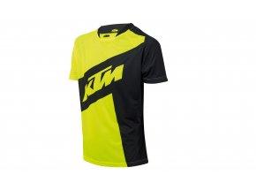 Cyklistický dres KTM Factory ENDURO Black/yellow