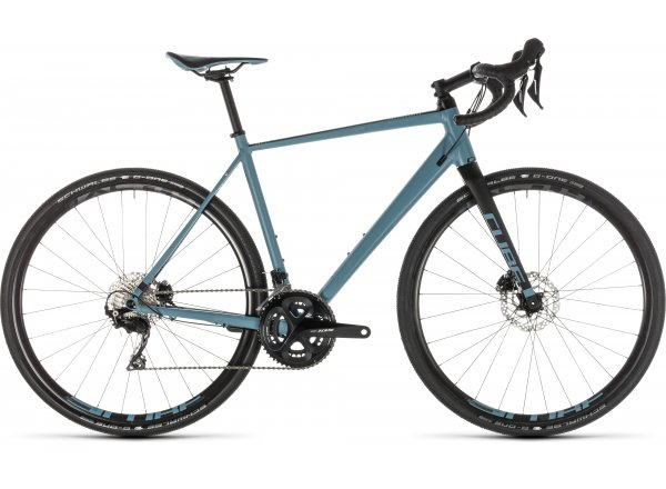 Gravel CUBE NUROAD Race 2019 blue´n´black