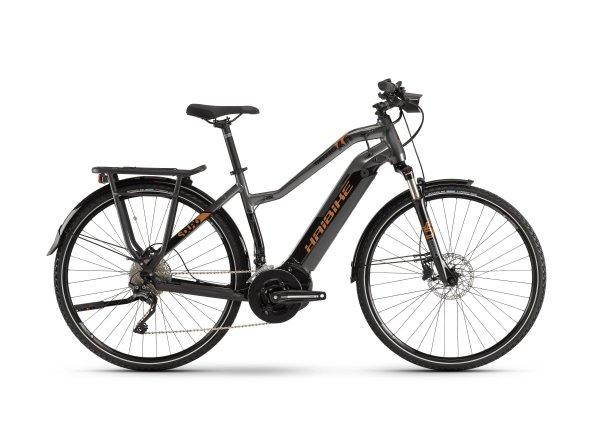Dámské elektrokolo Haibike SDURO Trekking 6.0 i500Wh 2019 black/titanium/bronze