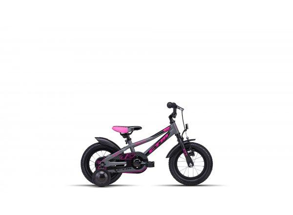 Dětské kolo CTM Billy 12 2019 Matt grey/pink