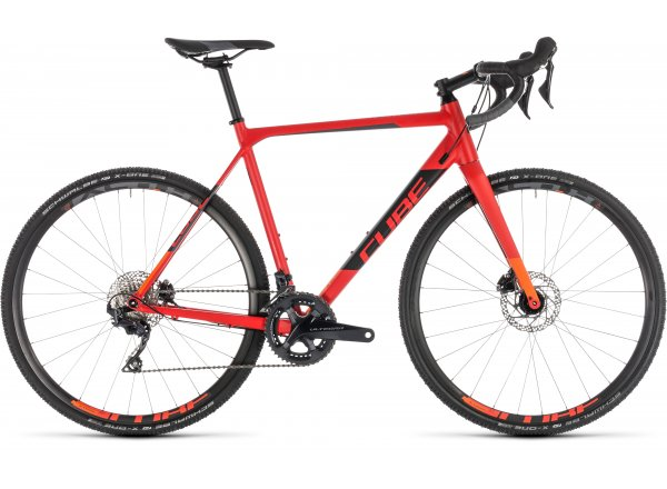 Cyklokrosové kolo CUBE CROSS RACE SL 2019 red´n´orange