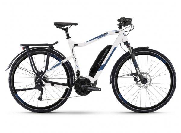 Elektrokolo Haibike SDURO Trekking 4.0 500Wh 2019 White/blue/black