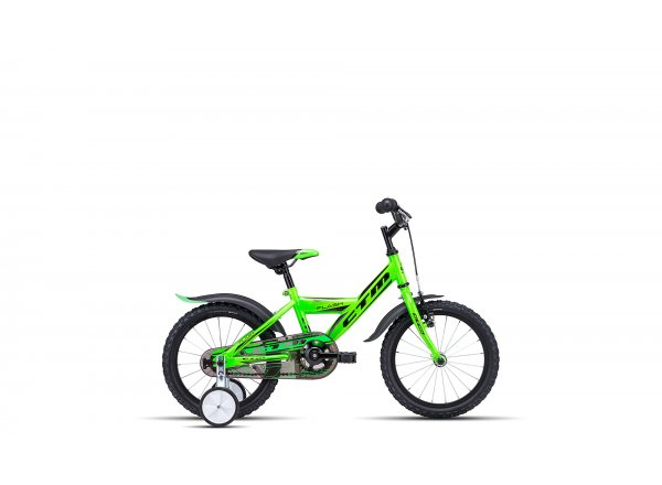 Dětské kolo CTM Flash 16 2019 Green/black