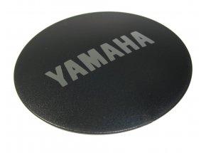 Logo krytka k motoru Yamaha E-Bike Black/silver